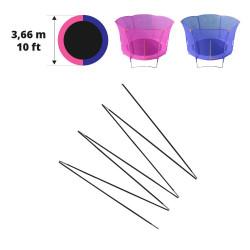 Fiberglass rods for 12ft. Hip/Hop trampoline 366