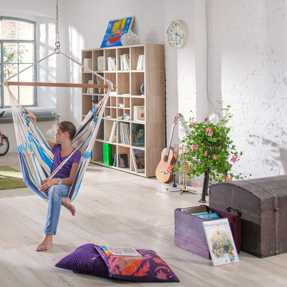 Chaise hamac simple caribena france trampoline for Chaise simple