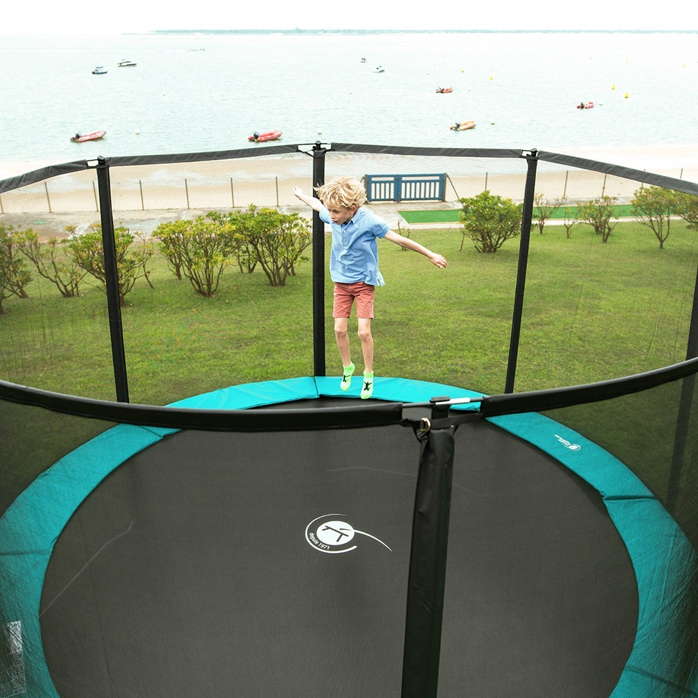 Image result for There are many different types of trampolines of all shapes and sizes""