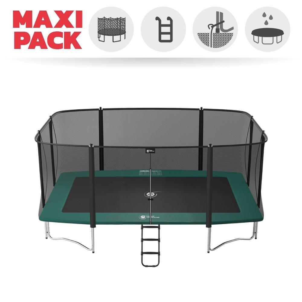 maxi pack grand trampoline rectangulaire apollo sport 500. Black Bedroom Furniture Sets. Home Design Ideas