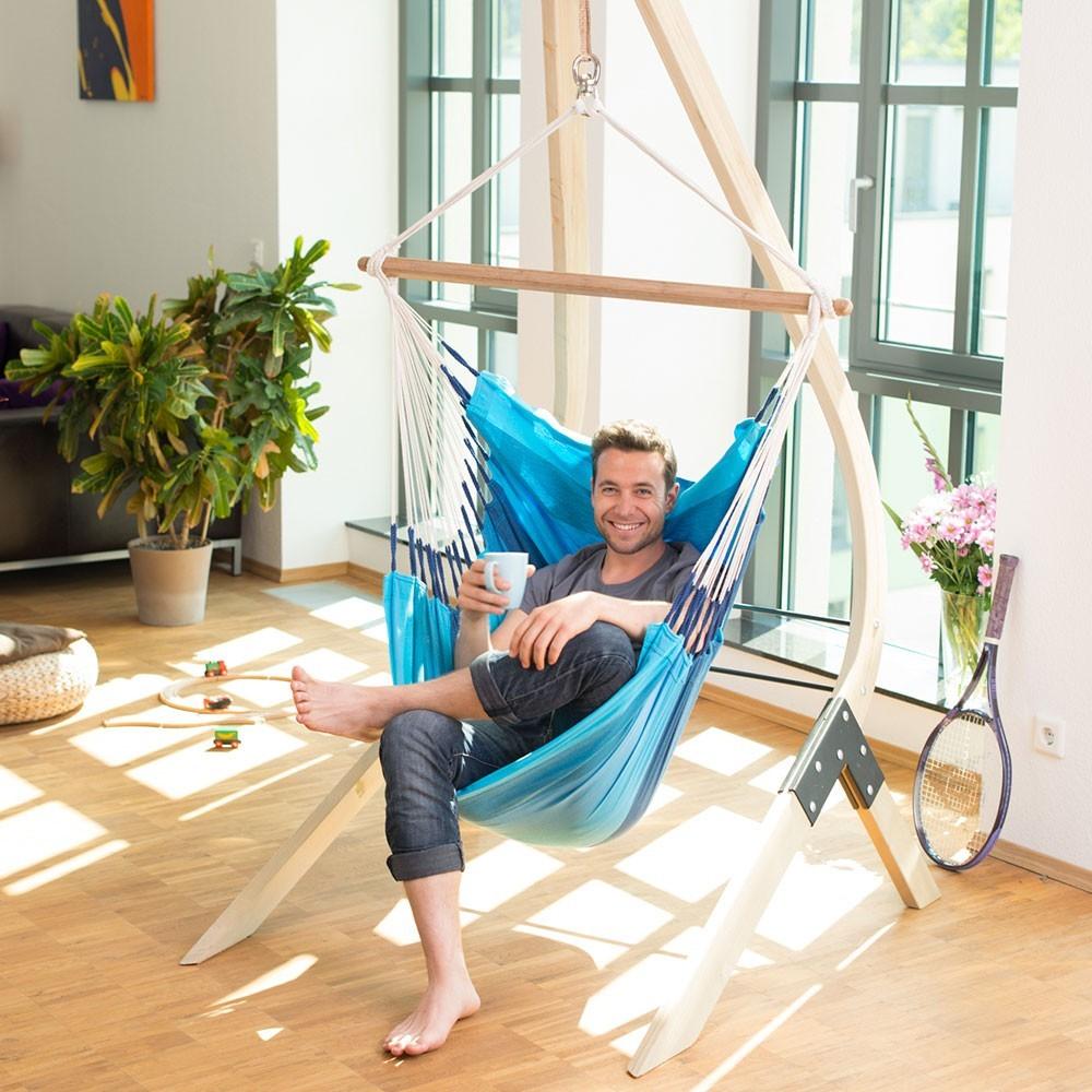 Chaise hamac simple en mat riaux biologiques for Chaise simple