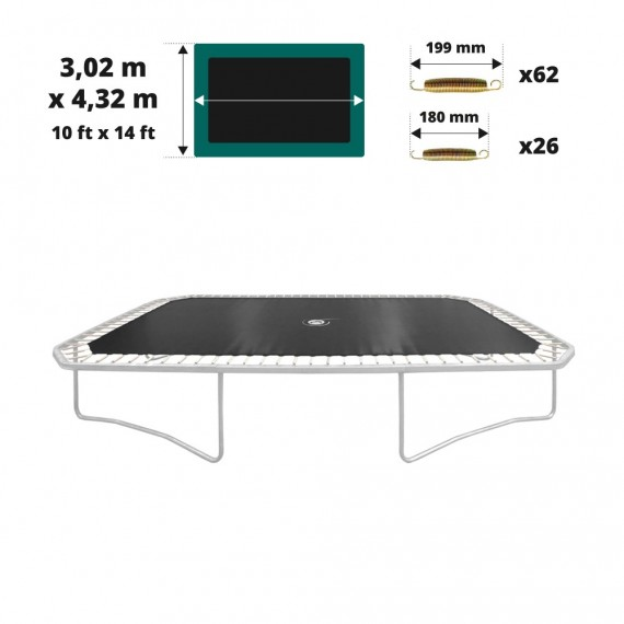 jumping mat for the Apollo Sport 400 trampoline - 2019