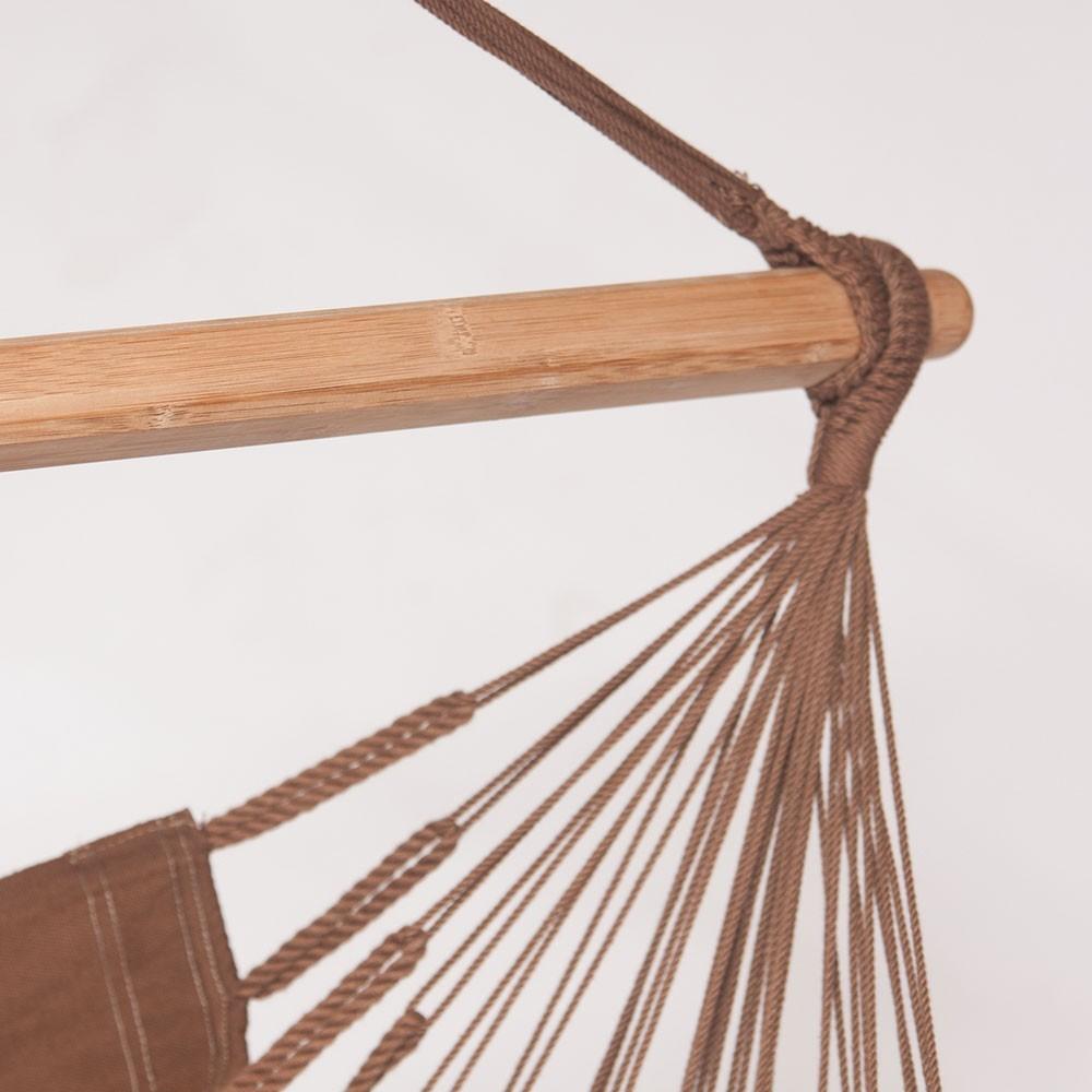Chaise hamac une personne en coton biologique for Chaise simple