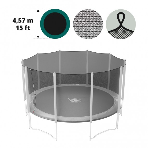 15ft trampoline net for 460 trampoline