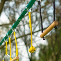 Boule en corde - Parcours Ninja