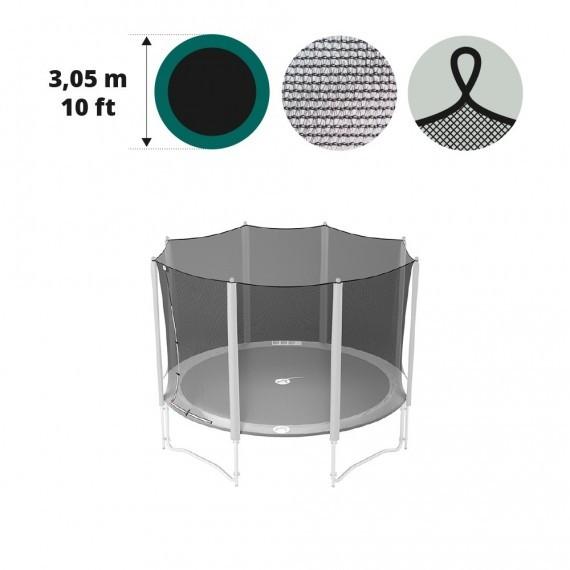 Filet textile pour trampoline Ø 305 à 8 montants avec sangles