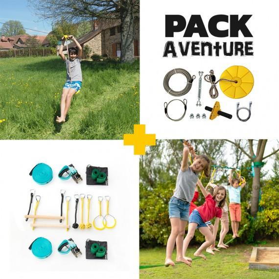 Adventure Pack - Indiana Zipline + Ninjaline