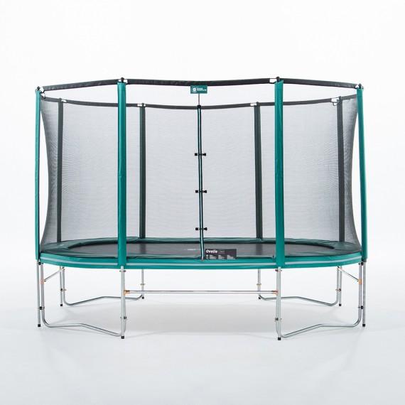 12ft Ovalie 360 trampoline