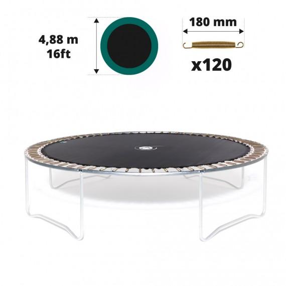Toile de saut pour trampoline Ø488 à 120 ressorts 180 mm