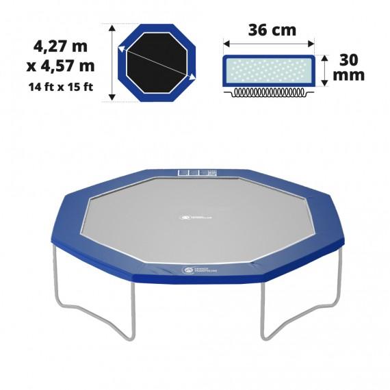 15ft Premium Octopulse frame pad