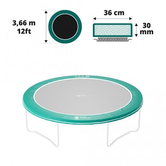 12ft/360 Frame pad vert 30mm / 41cm