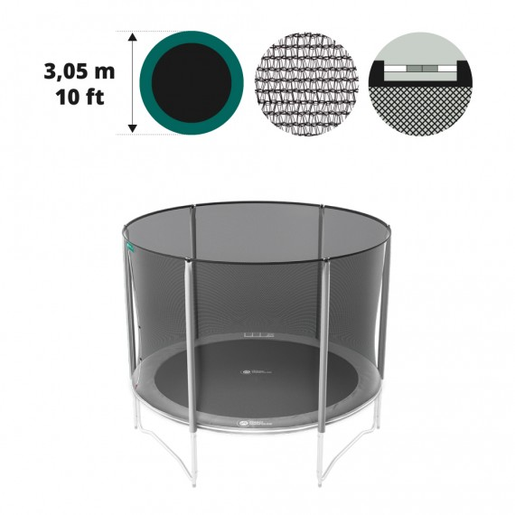 10ft trampoline premium net