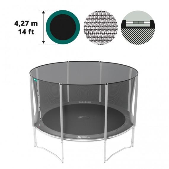 Medium textile net for 14ft/430 trampoline