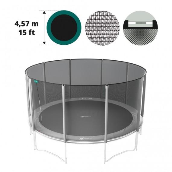 Medium textile net for 15ft/460 trampoline