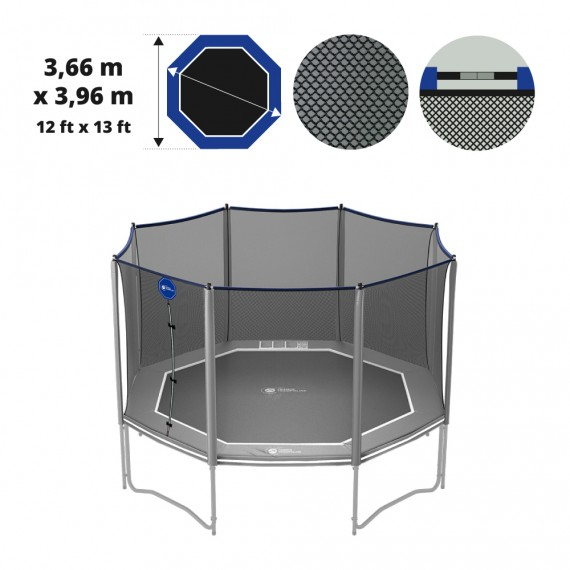 13ft Octopulse Premium trampoline net