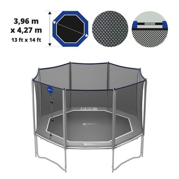 14ft Waouuh Premium trampoline net