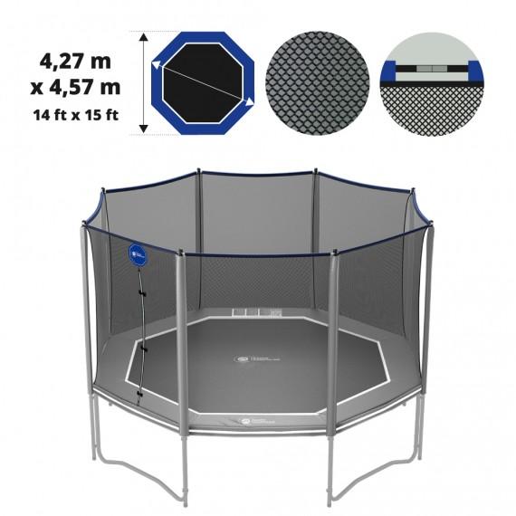 Filet textile premium pour trampoline Octopulse 460