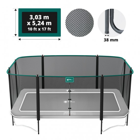 Filet complet pour trampoline Apollo Sport 500