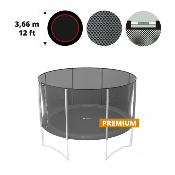 Premium black net for 12ft / 360 trampoline