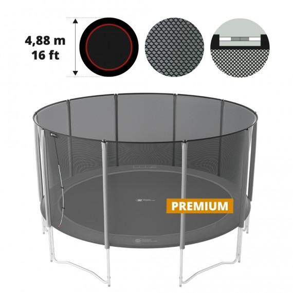 Filet textile premium pour trampoline Ø 488