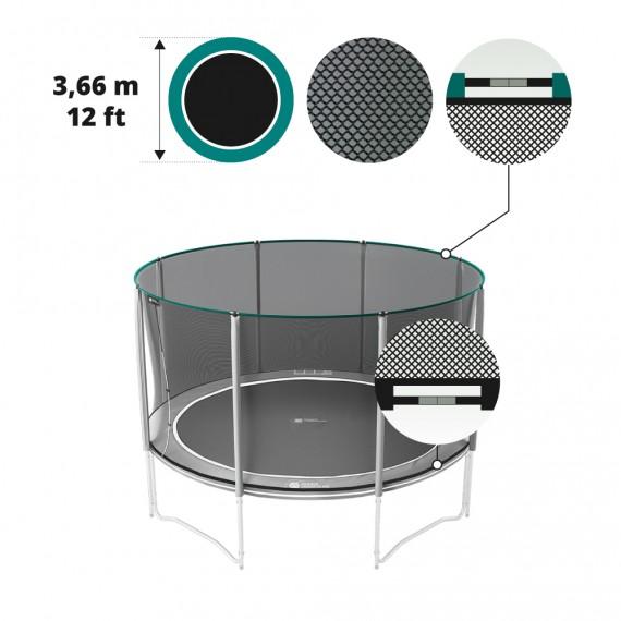 Filet textile premium pour trampoline Boost'Up Ø 366