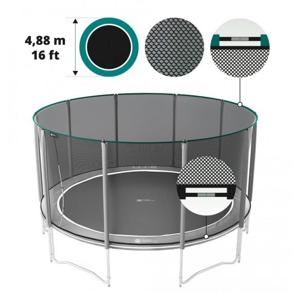 Filet textile premium pour trampoline Boost'Up Ø 488