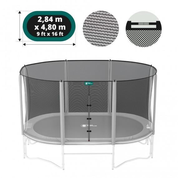 16ft Ovalie 490 trampoline net