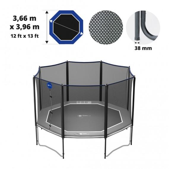 Octopulse 390 Premium trampoline net