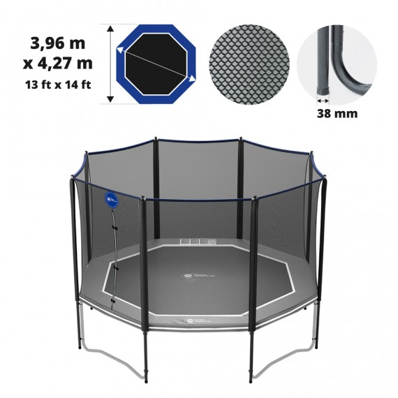 Octopulse 430 Premium trampoline net