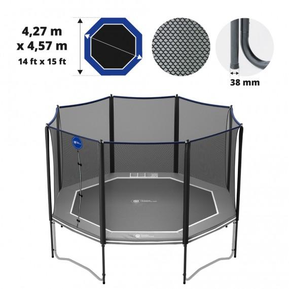 Octopulse 460 Premium trampoline net