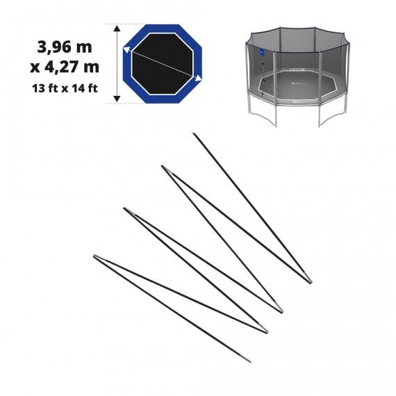 Set of fibreglass bows for Octopulse net 360 - Ø12 mm