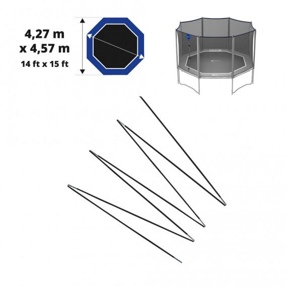 Set of fiberglass bows for Octopulse net 460 - Ø12mm