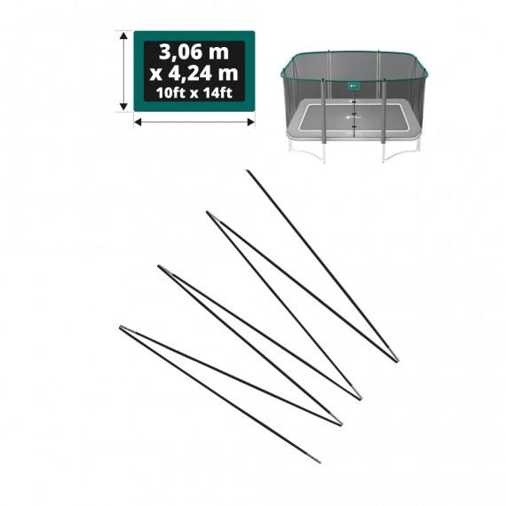 Set of fiberglass bows for Apollo Sport 400 net - Ø 12mm