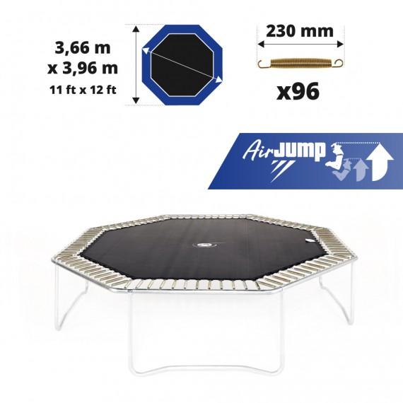 Toile de saut AirJump pour trampoline Waouuh - Octopulse 390 à 96 ressorts 230 mm