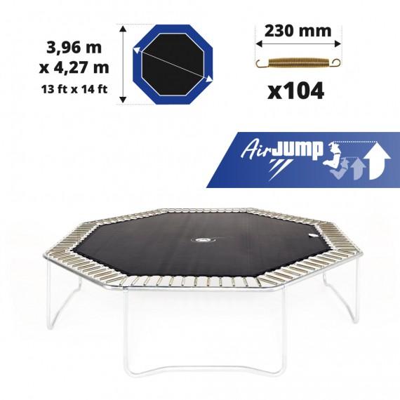 Toile de saut AirJump pour trampoline Waouuh - Octopulse 430 à 104 ressorts 230 mm