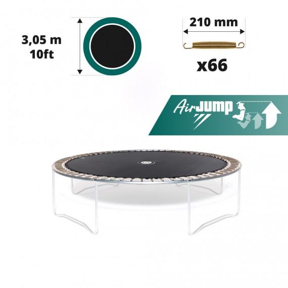 10ft trampoline jumping mat for 66 springs of 210 mm