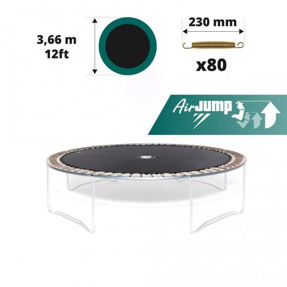 12ft trampoline jumping mat for 72 springs of 230 mm