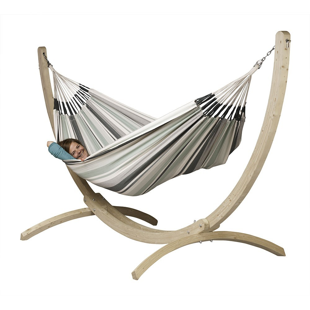 support pour hamac simple canoa. Black Bedroom Furniture Sets. Home Design Ideas