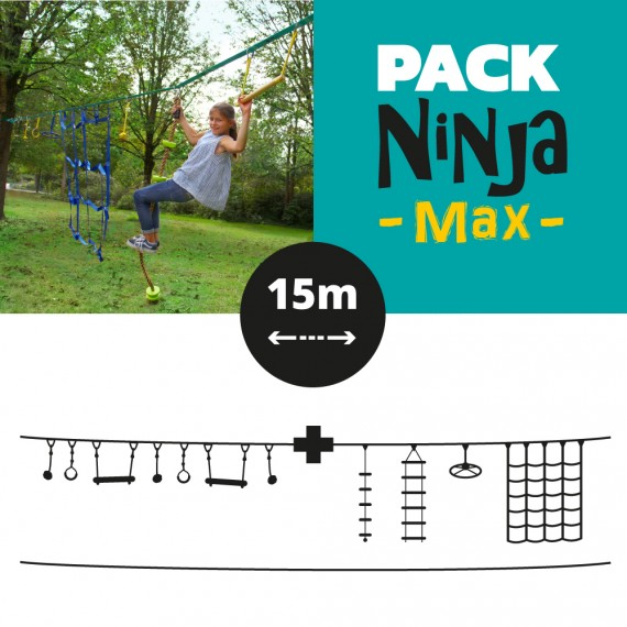 Pack Ninja max de 15 mètres