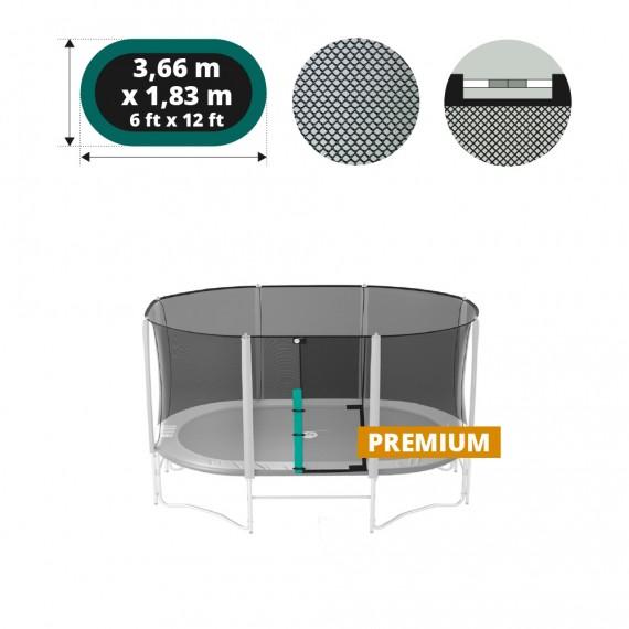 Filet textile pour trampoline Ovalie 360 Occasion
