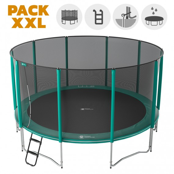 Trampoline pour adultes Jump'Up 460 - Pack XXL