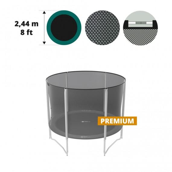 8ft. 250 trampoline premium net