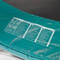Consignes de sécurité imprimées sur le coussin