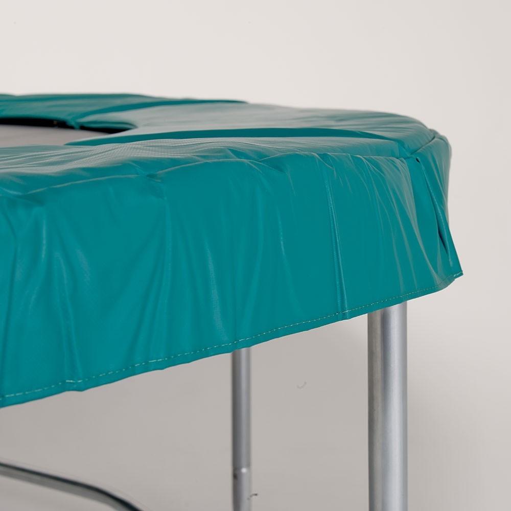 coussin de protection vert pour trampoline 360 30mm 41cm. Black Bedroom Furniture Sets. Home Design Ideas