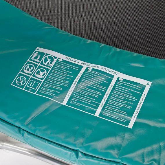 Coussin de protection 460 vert 30mm / 41cm