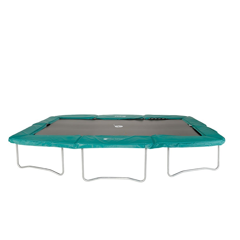 Coussin de protection ressorts pour trampoline rectangulaire - Protection trampoline ...