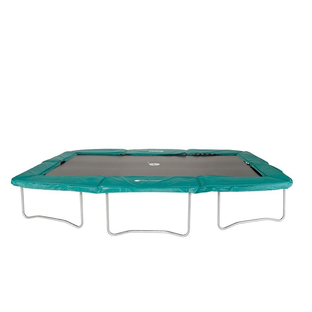coussin de protection ressorts pour trampoline rectangulaire. Black Bedroom Furniture Sets. Home Design Ideas
