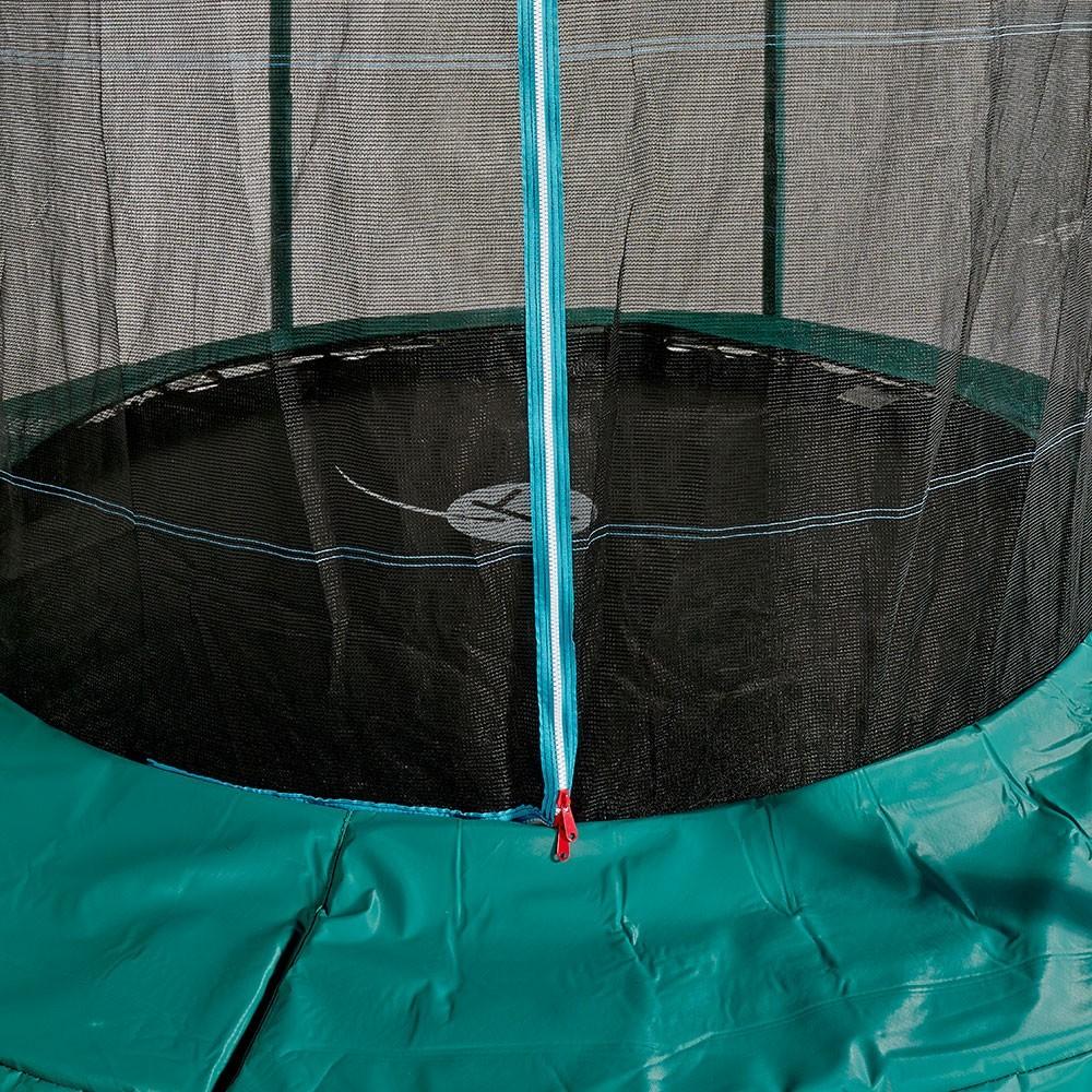 Coussin de protection vert pour trampoline de la gamme - Protection trampoline ...