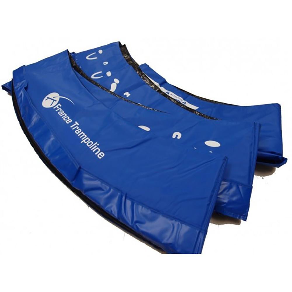 Coussin pais bleu pour trampoline de loisirs 250 - Coussin de protection trampoline 244 ...