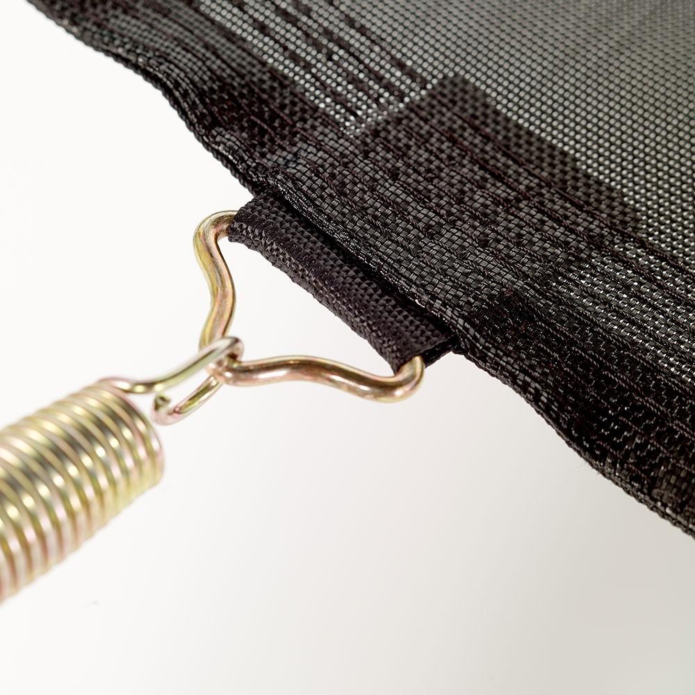 toile de trampoline rond 4 90 m quip de 120 ressorts 230 mm. Black Bedroom Furniture Sets. Home Design Ideas